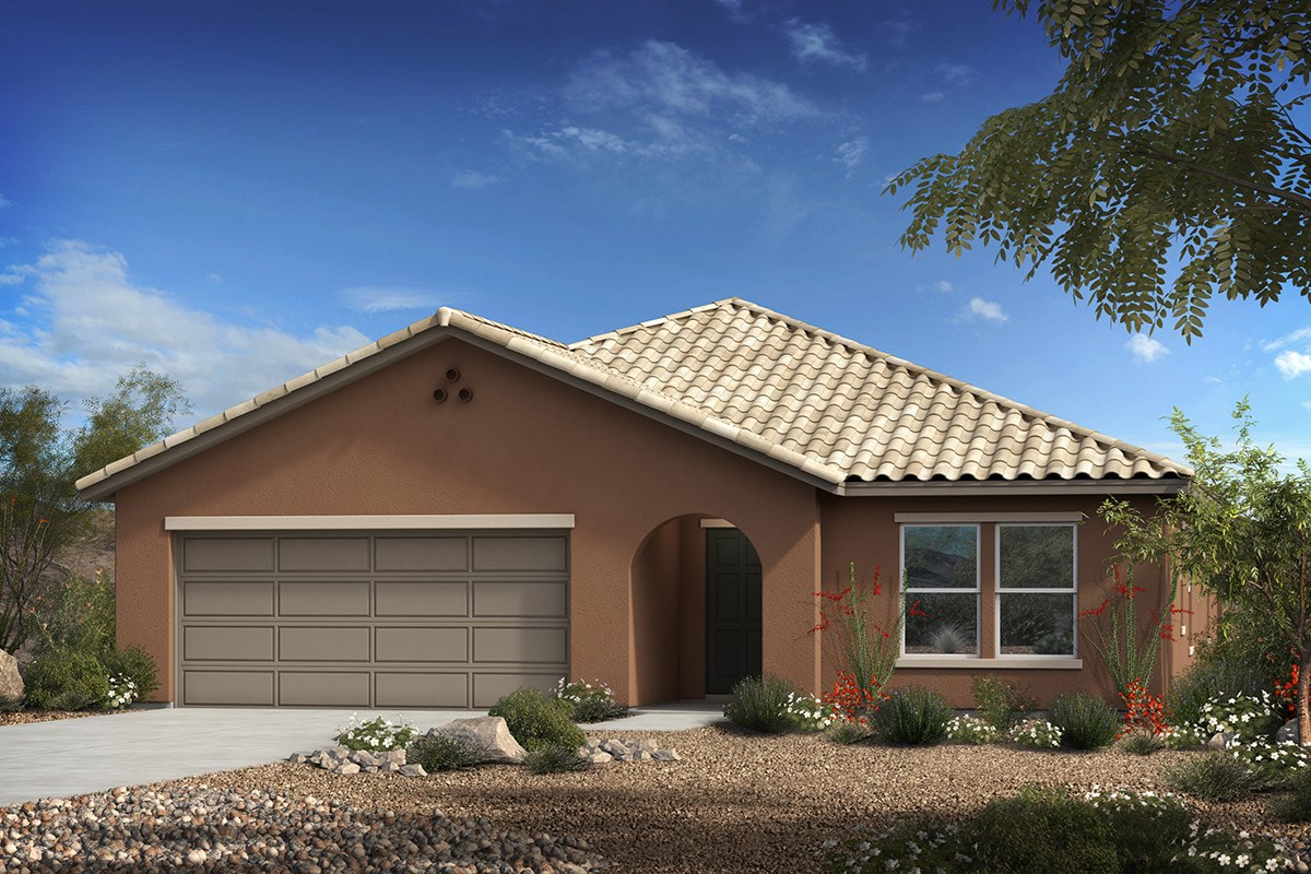 New Homes in Vail, AZ - Estates at Rancho Del Lago  Plan 1708 Elevation A