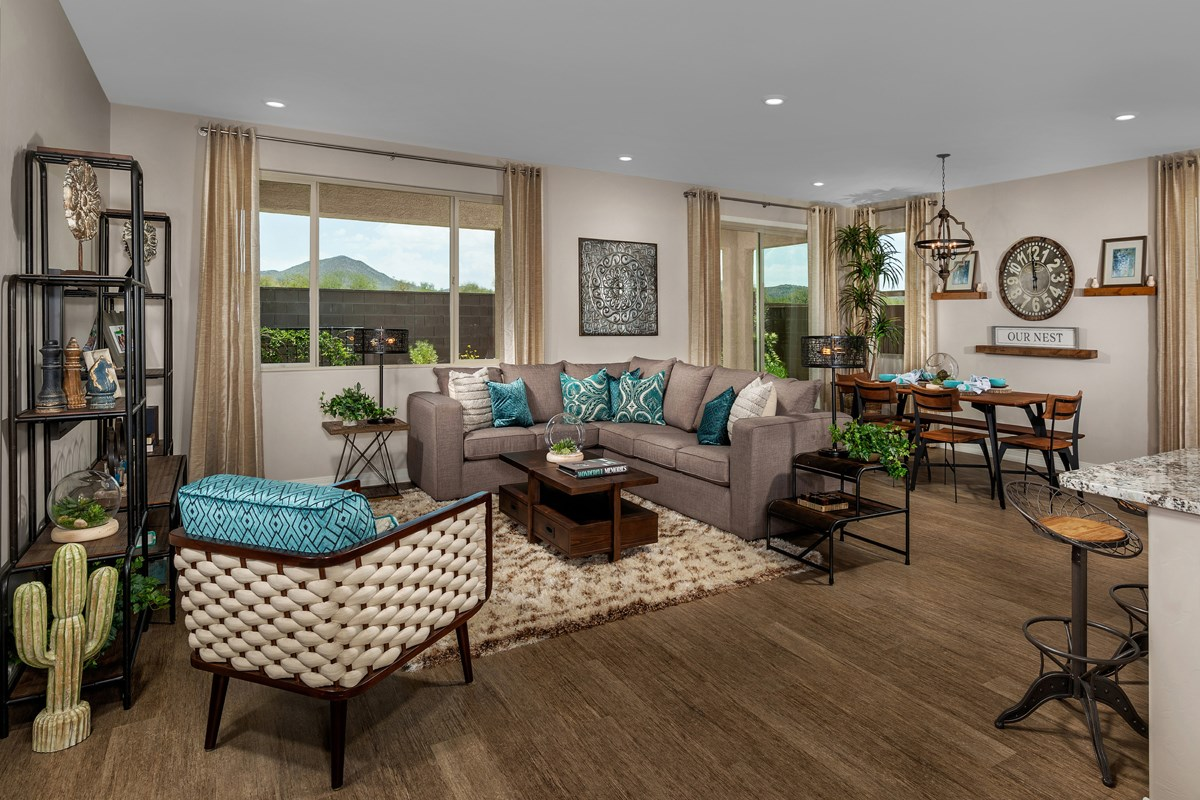 New Homes in Vail, AZ - Estates at Rancho Del Lago  2583 Great Room