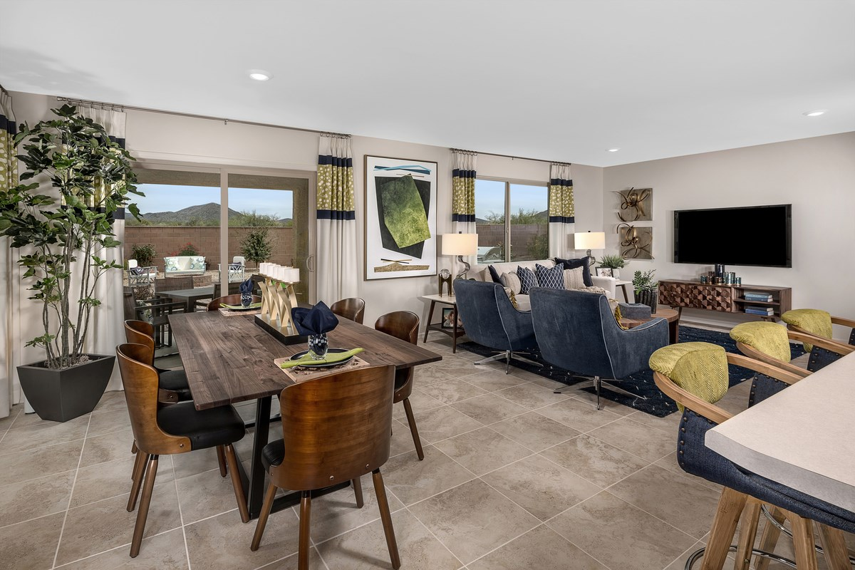 New Homes in Vail, AZ - Estates at Rancho Del Lago  1708 Great Room