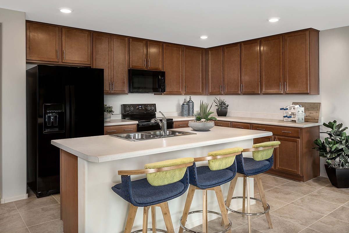 New Homes in Vail, AZ - Estates at Rancho Del Lago  1708 Kitchen