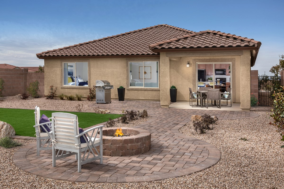 New Homes in Vail, AZ - Estates at Rancho Del Lago  1708 Outdoor Living
