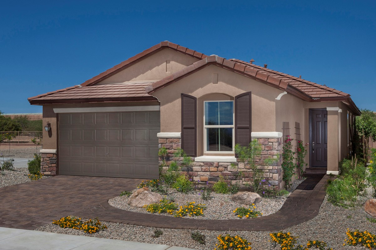 New Homes in Sahuarita, AZ - Presidio Porvenir at Rancho Sahuarita Plan 1791 Exterior