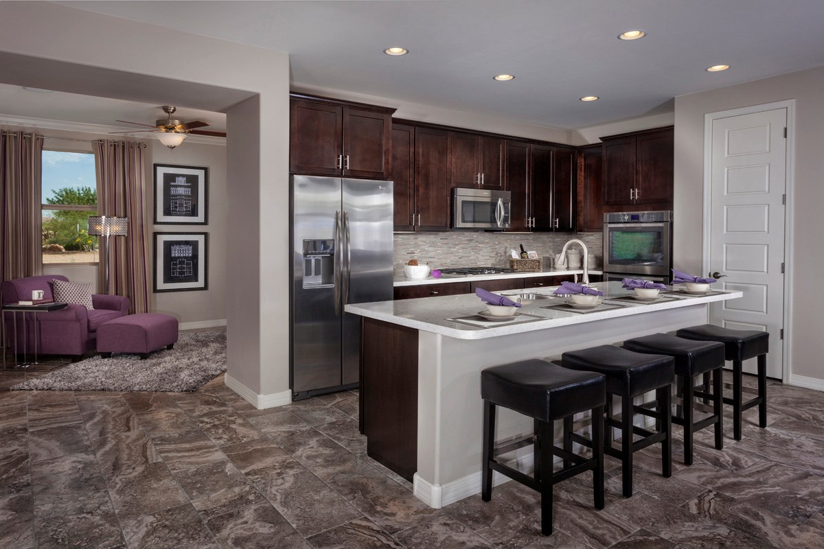 New Homes in Sahuarita, AZ - Presidio Porvenir at Rancho Sahuarita Plan 1791 Kitchen