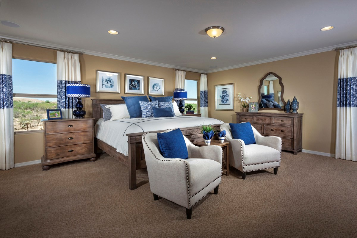 New Homes in Sahuarita, AZ - Presidio Porvenir at Rancho Sahuarita Plan 2836 Master Bedroom