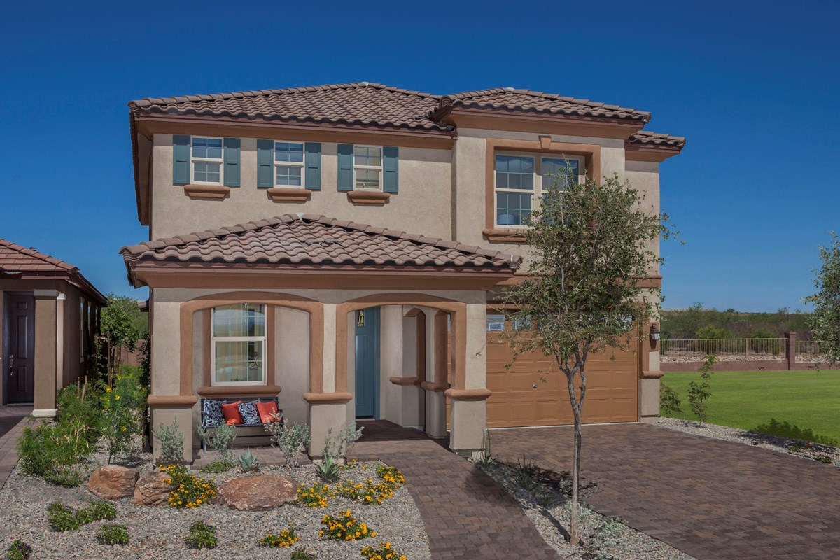 New Homes in Sahuarita, AZ - Presidio Porvenir at Rancho Sahuarita Plan 2836 Exterior