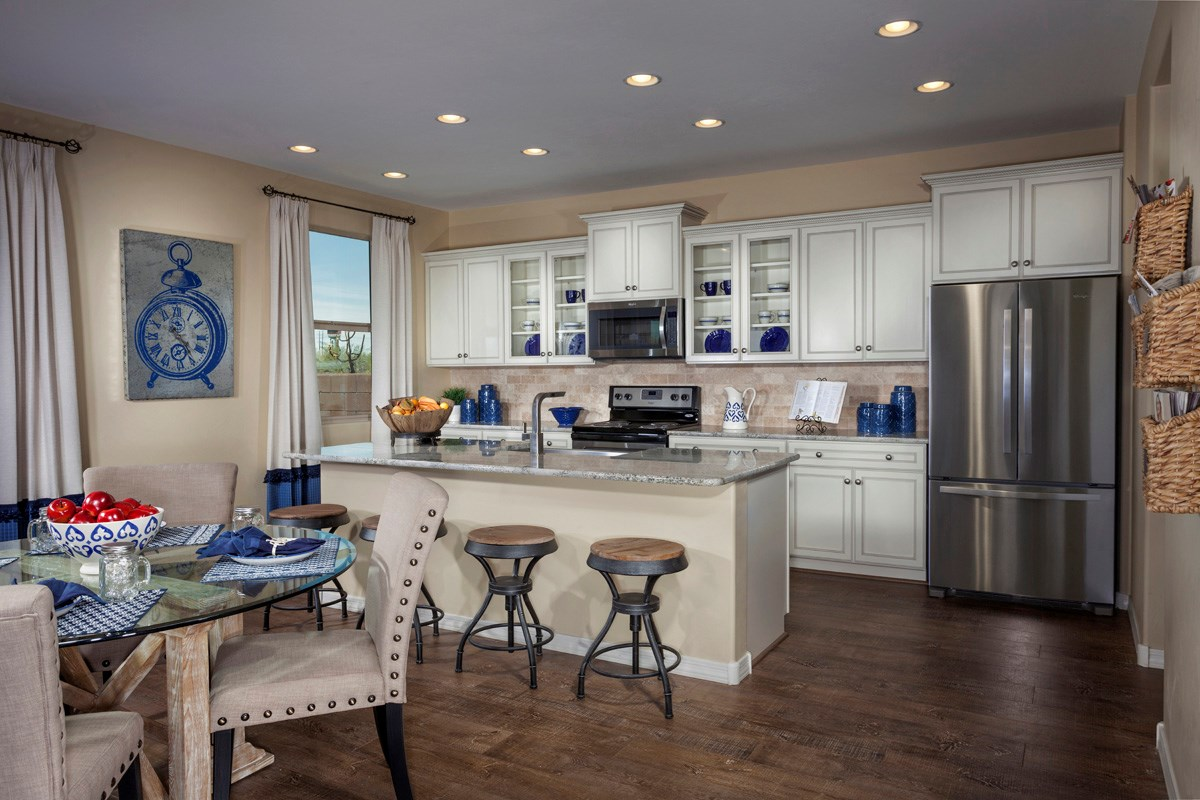 New Homes in Sahuarita, AZ - Presidio Porvenir at Rancho Sahuarita Plan 2836 Kitchen