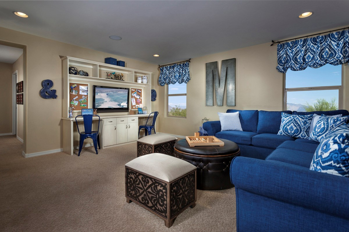 New Homes in Sahuarita, AZ - Presidio Porvenir at Rancho Sahuarita Plan 2836 Loft