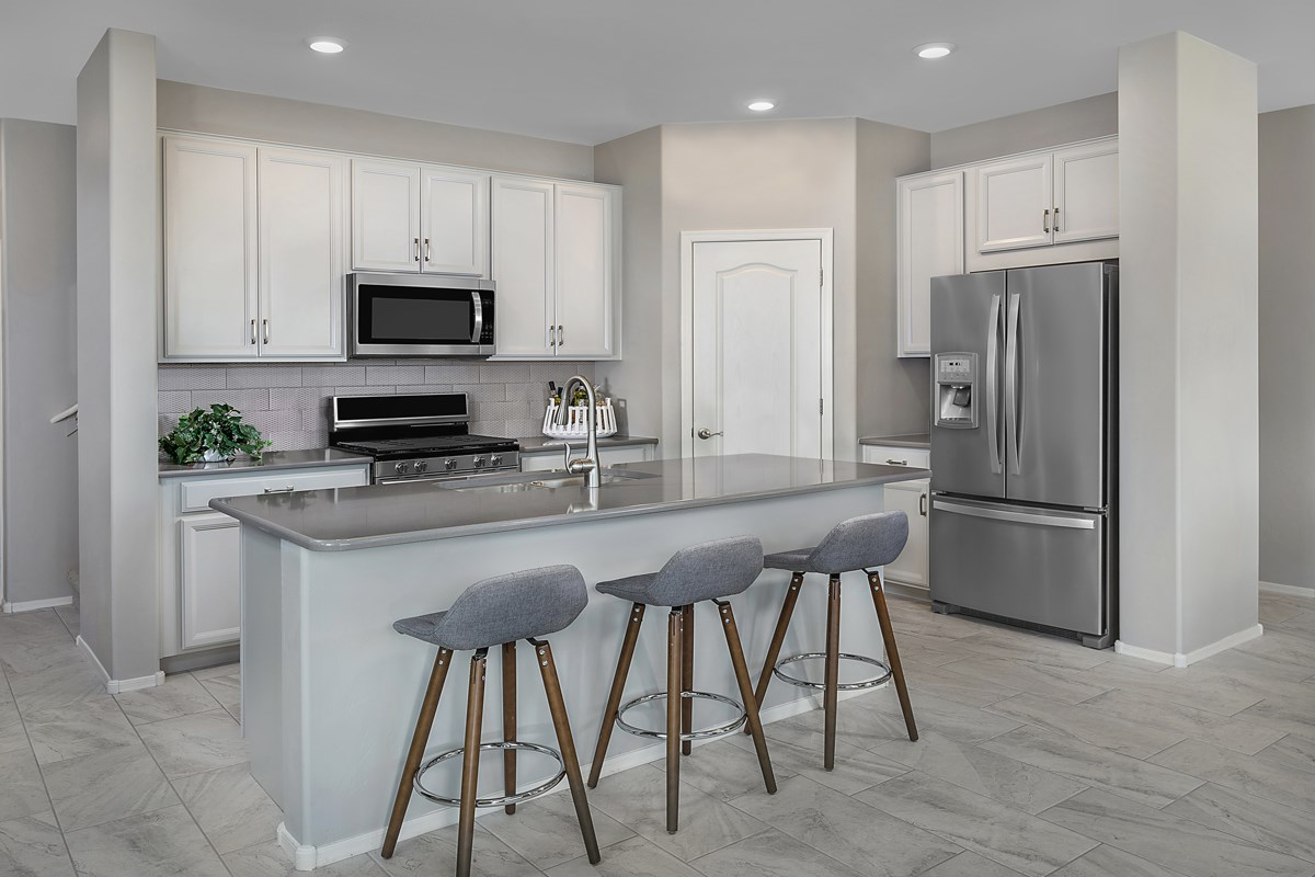 New Homes in Tucson , AZ - Saguaro Station  2037 Kitchen