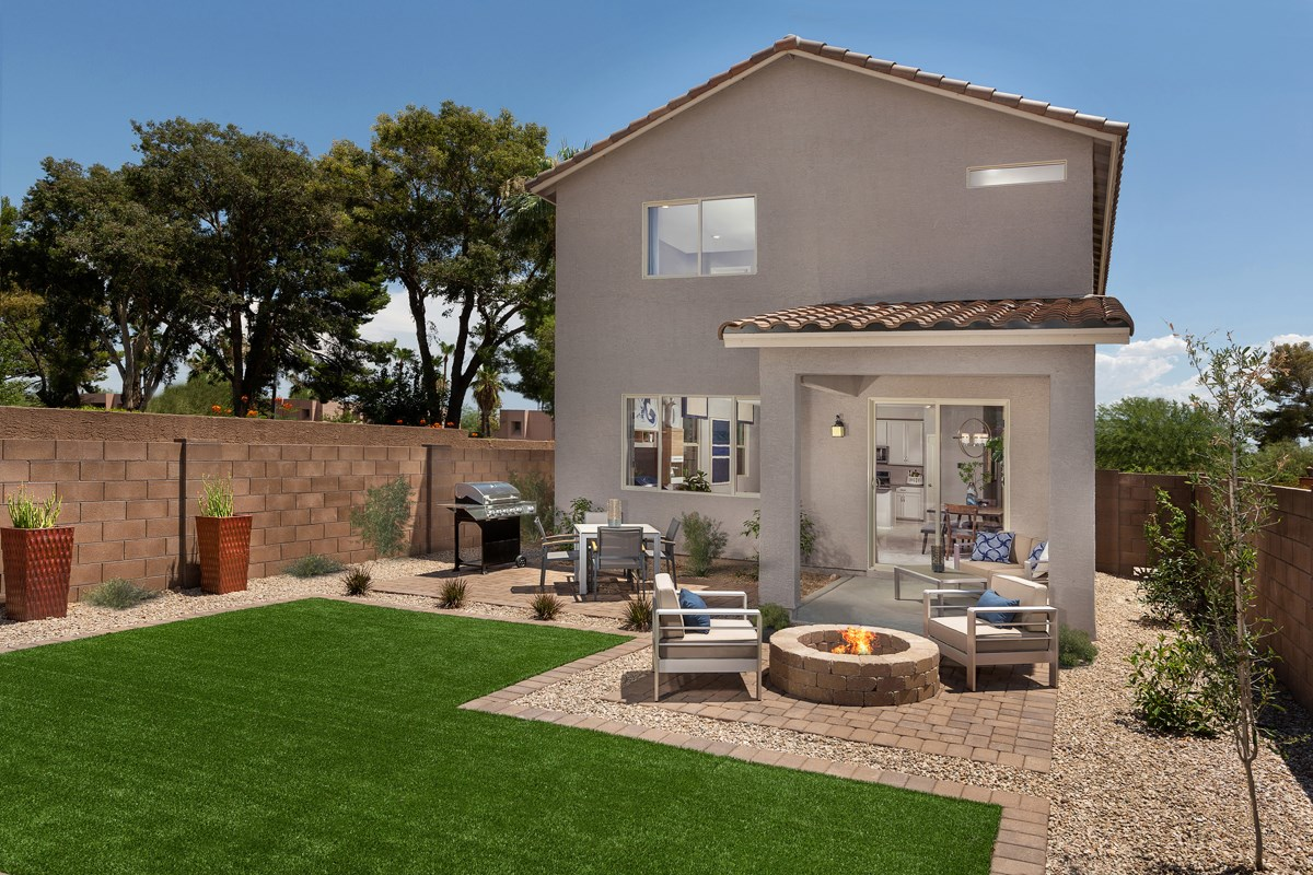 New Homes in Tucson , AZ - Saguaro Station  2037 Patio