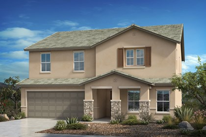 New Homes in Vail, AZ - Tuscan 'C' (with optional stone)