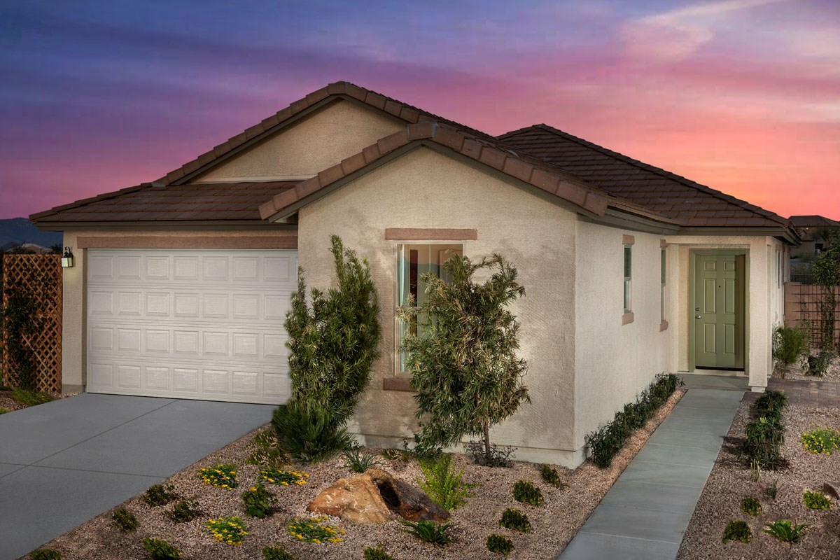 New Homes in Vail, AZ - Santa Rita Ranch II Plan 1861 Exterior