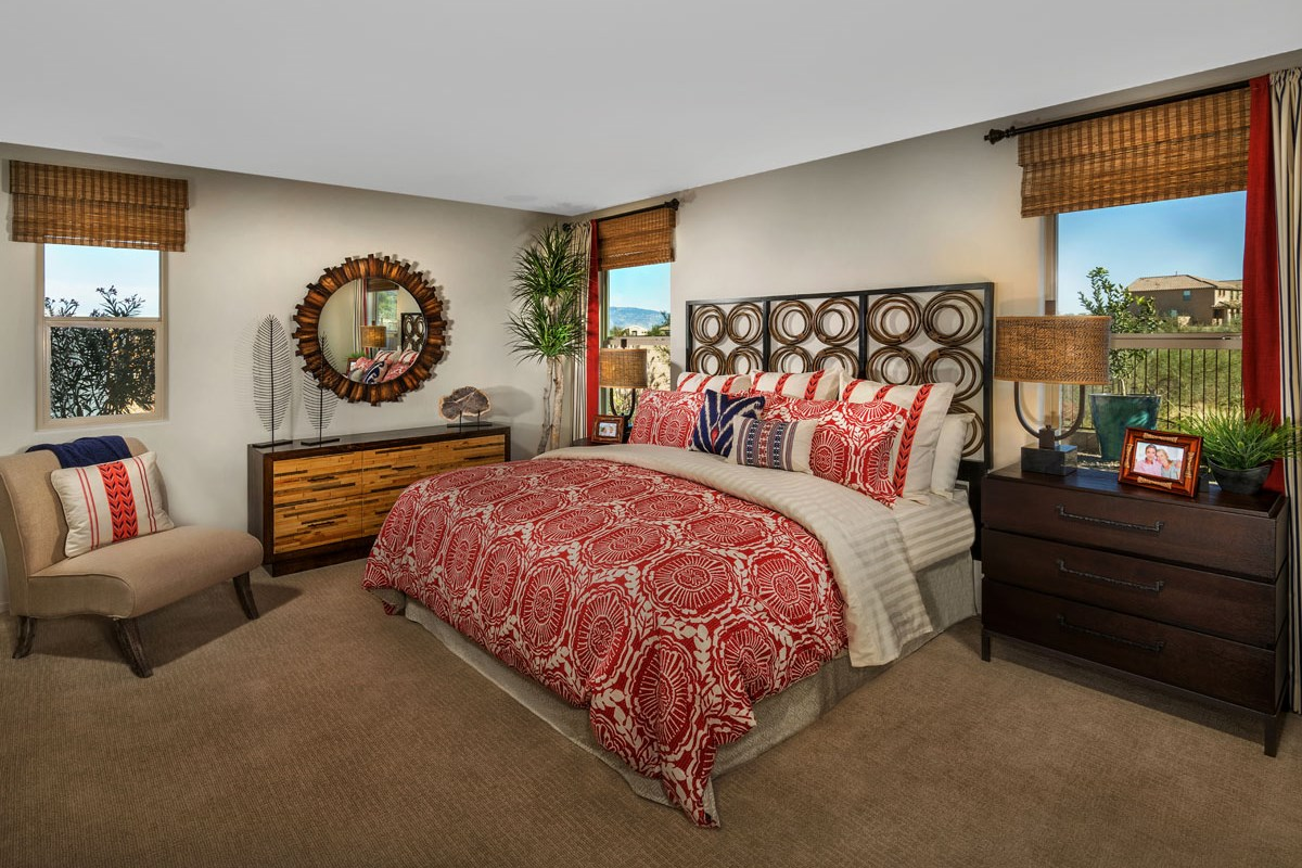New Homes in Vail, AZ - Santa Rita Ranch II Plan 1861 Master Bedroom