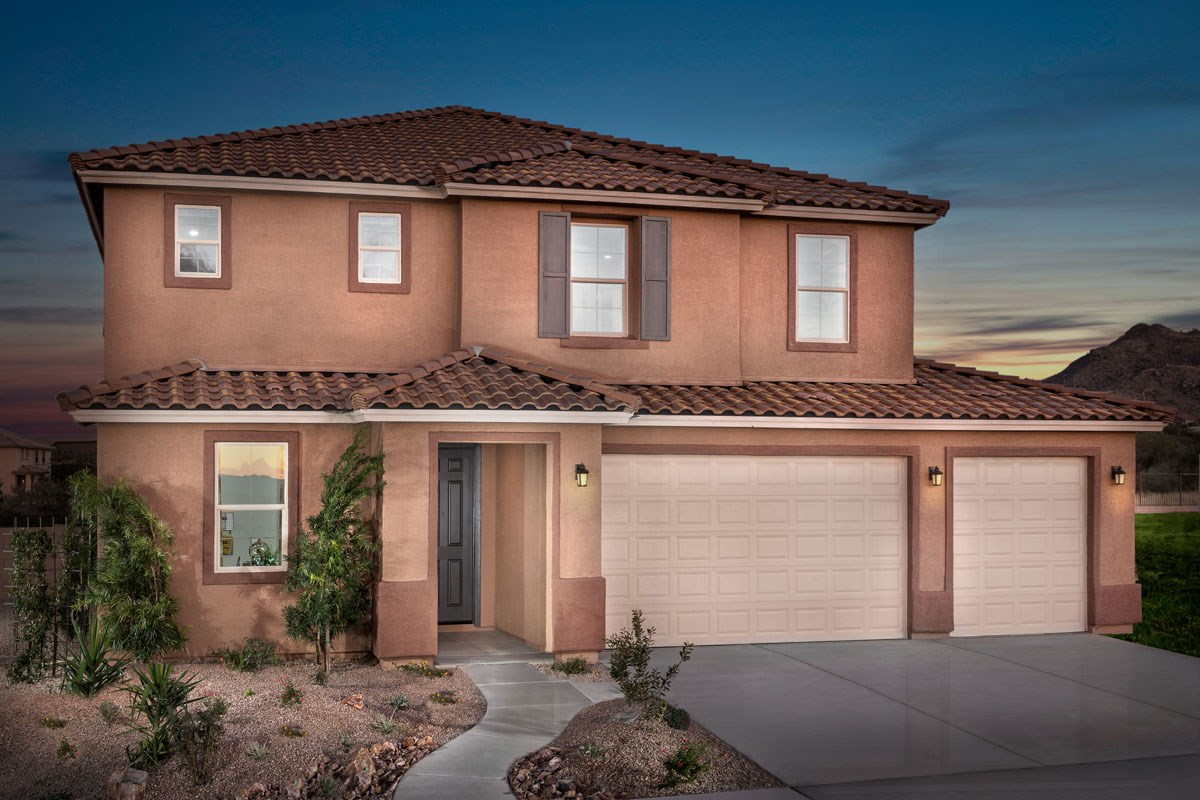 New Homes in Vail, AZ - Santa Rita Ranch II Plan 2723 Exterior