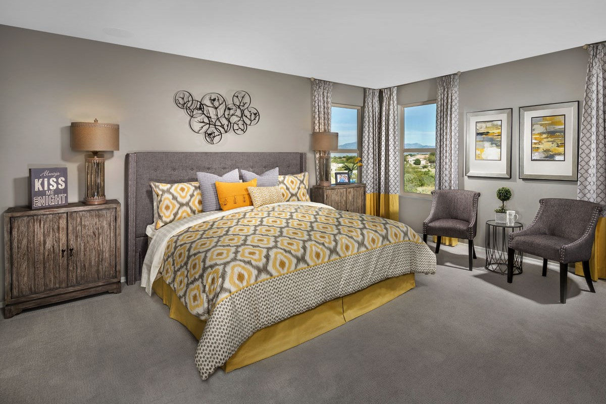 New Homes in Vail, AZ - Santa Rita Ranch II Plan 2723 Master Bedroom