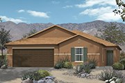New Homes in Marana, AZ - Plan 2013 Modeled