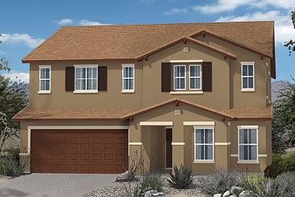 New Homes in Marana, AZ - Elevation C