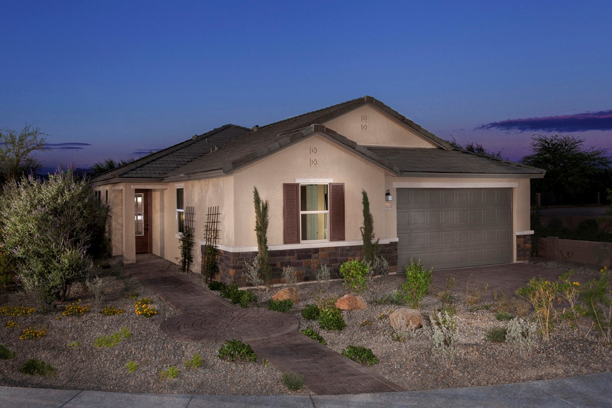 New Homes in Marana, AZ - KB Home at Gladden Farms Plan 2013 Exterior Elevation