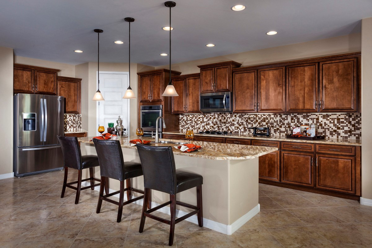 New Homes in Marana, AZ - KB Home at Gladden Farms Plan 2013 Kitchen
