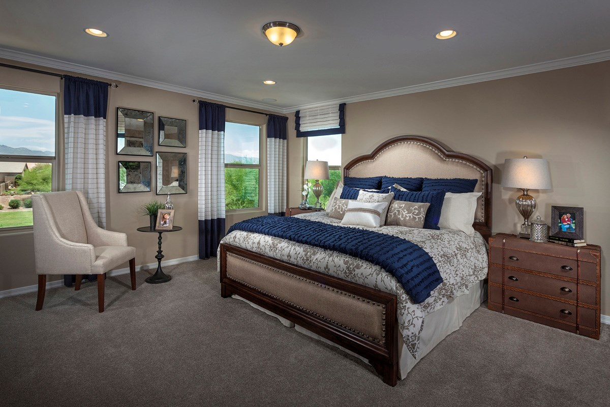New Homes in Marana, AZ - KB Home at Gladden Farms Plan 2723 Master Bedroom