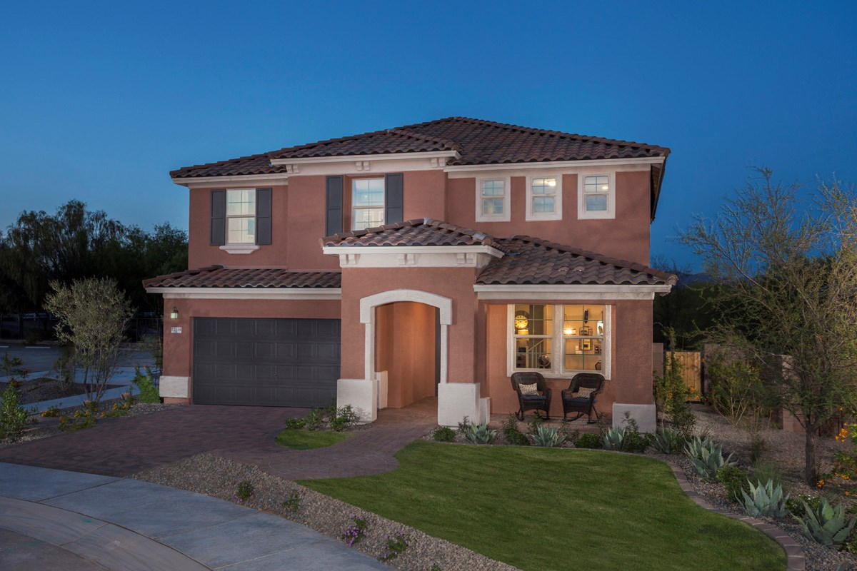 New Homes in Marana, AZ - KB Home at Gladden Farms Plan 2723 Exterior Elevation
