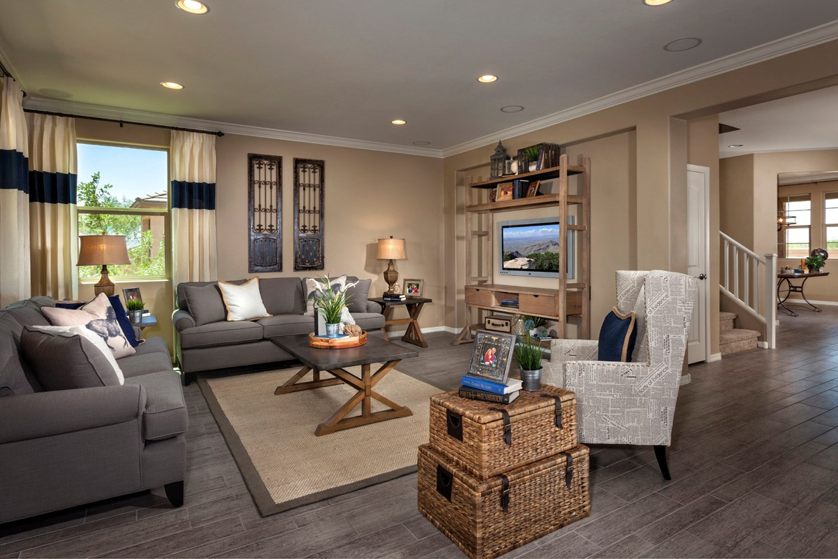 plan 1584 new home floor plan in kb home at gladden farms by kb home