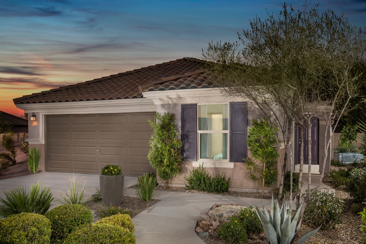 New Homes in Marana, AZ - KB Home at Gladden Farms Plan 1808 Exterior Elevation