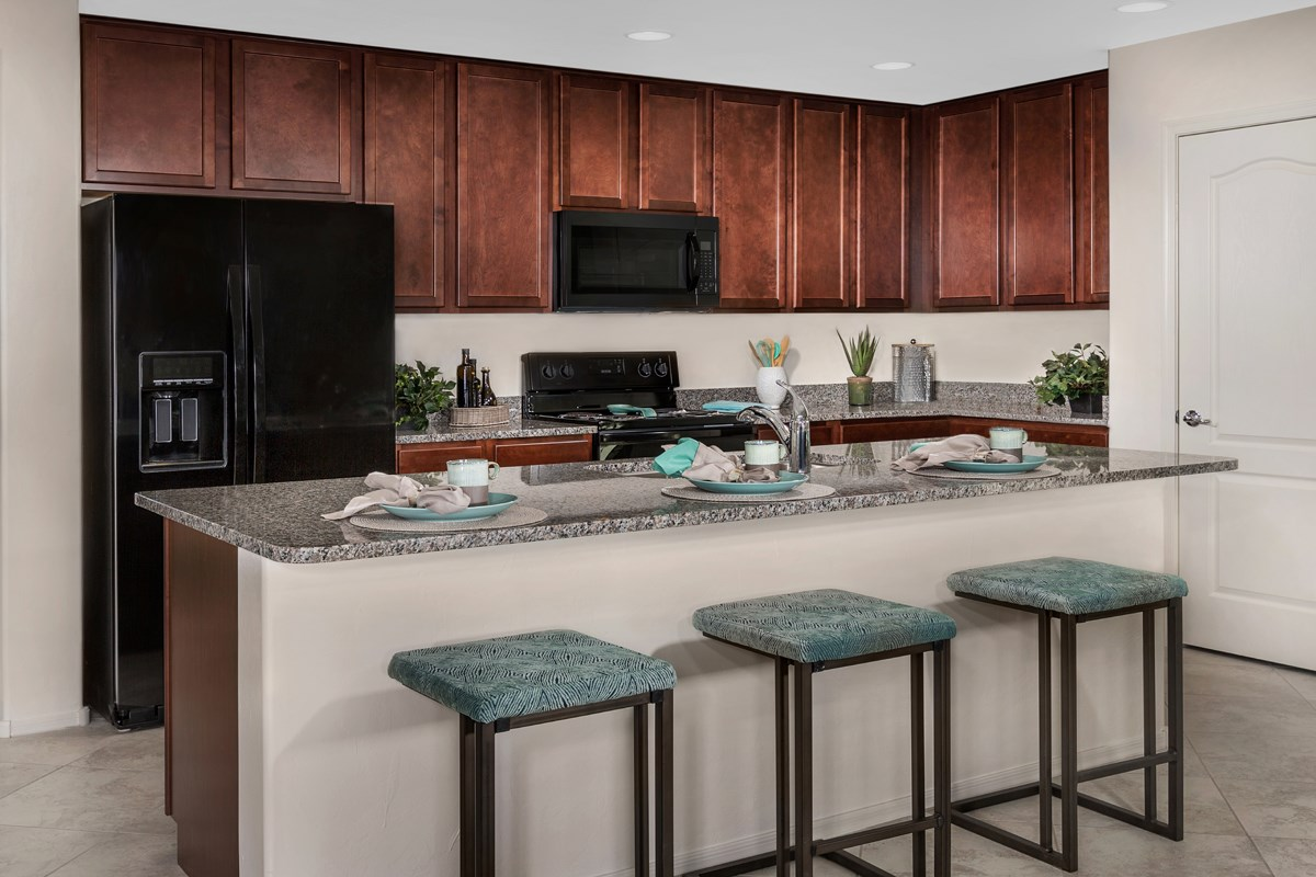 New Homes in Marana, AZ - KB Home at Gladden Farms Plan 1808 Kitchen