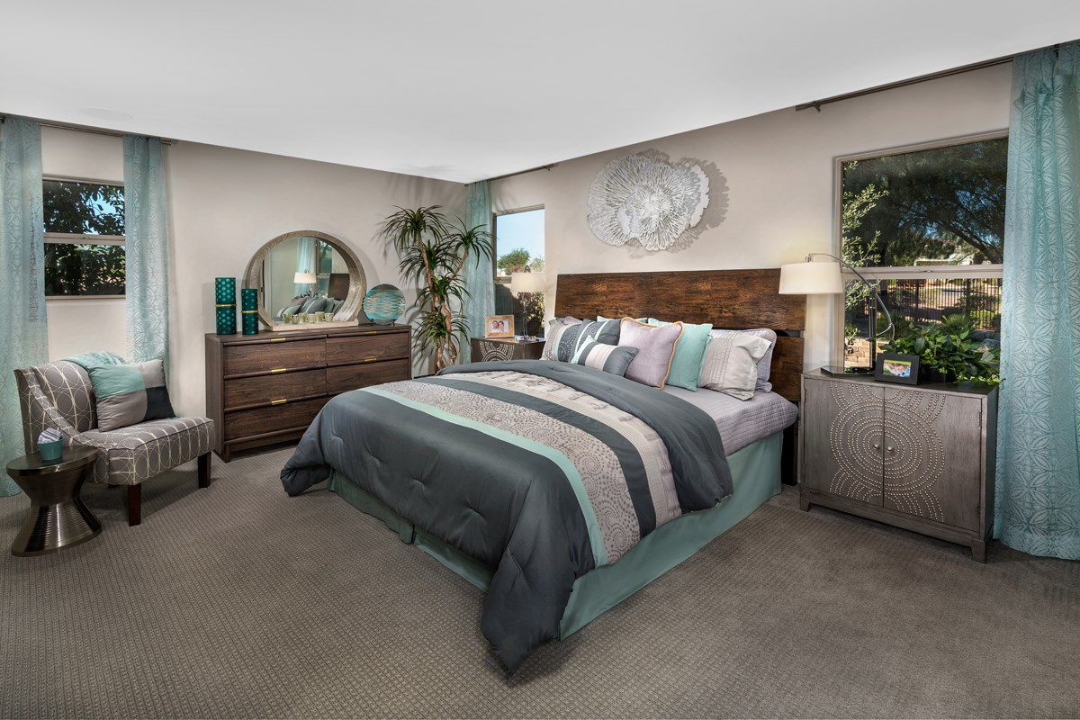 New Homes in Marana, AZ - KB Home at Gladden Farms Plan 1808 Master Bedroom