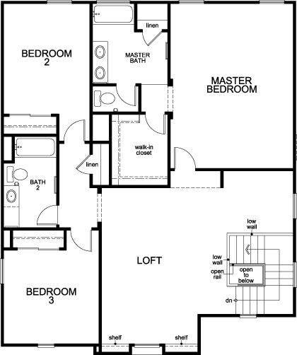 Plan 2632 modeled new home floor plan in sonoran ranch for Tucson home builders floor plans