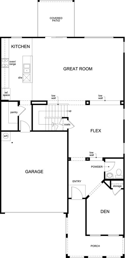 plan 2836 – new home floor plan in sonoran ranch iikb home