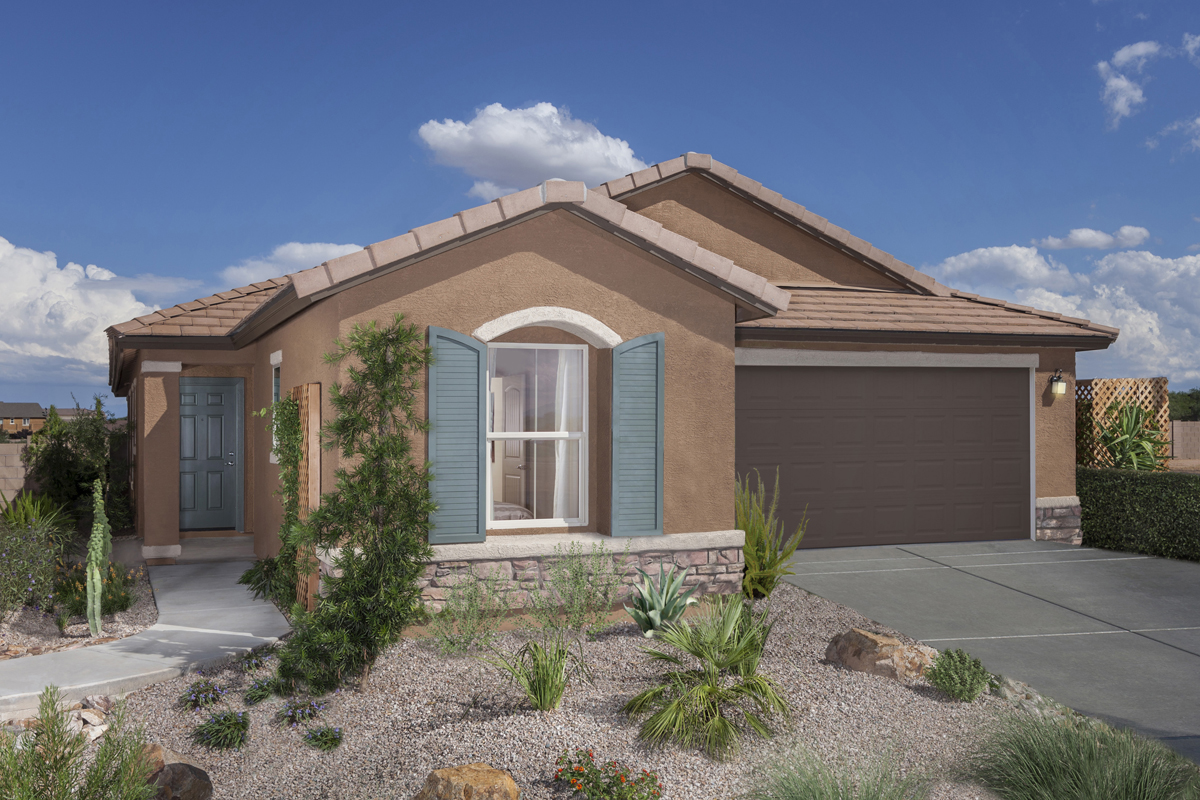 Learn About All New Homesites New Homes In Tucson, AZ   Sonoran Ranch II  Plan 1849 Exterior