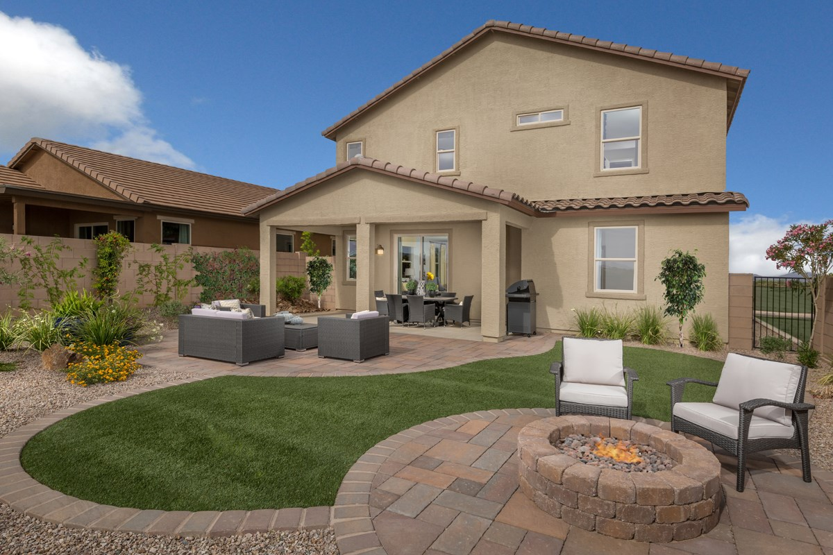 New Homes in Tucson, AZ - Sonoran Ranch II Plan 2632 Patio