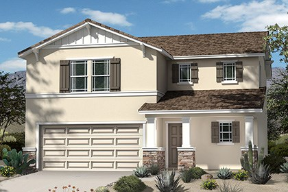 New Homes in Palmdale, CA - Craftsman 'B'