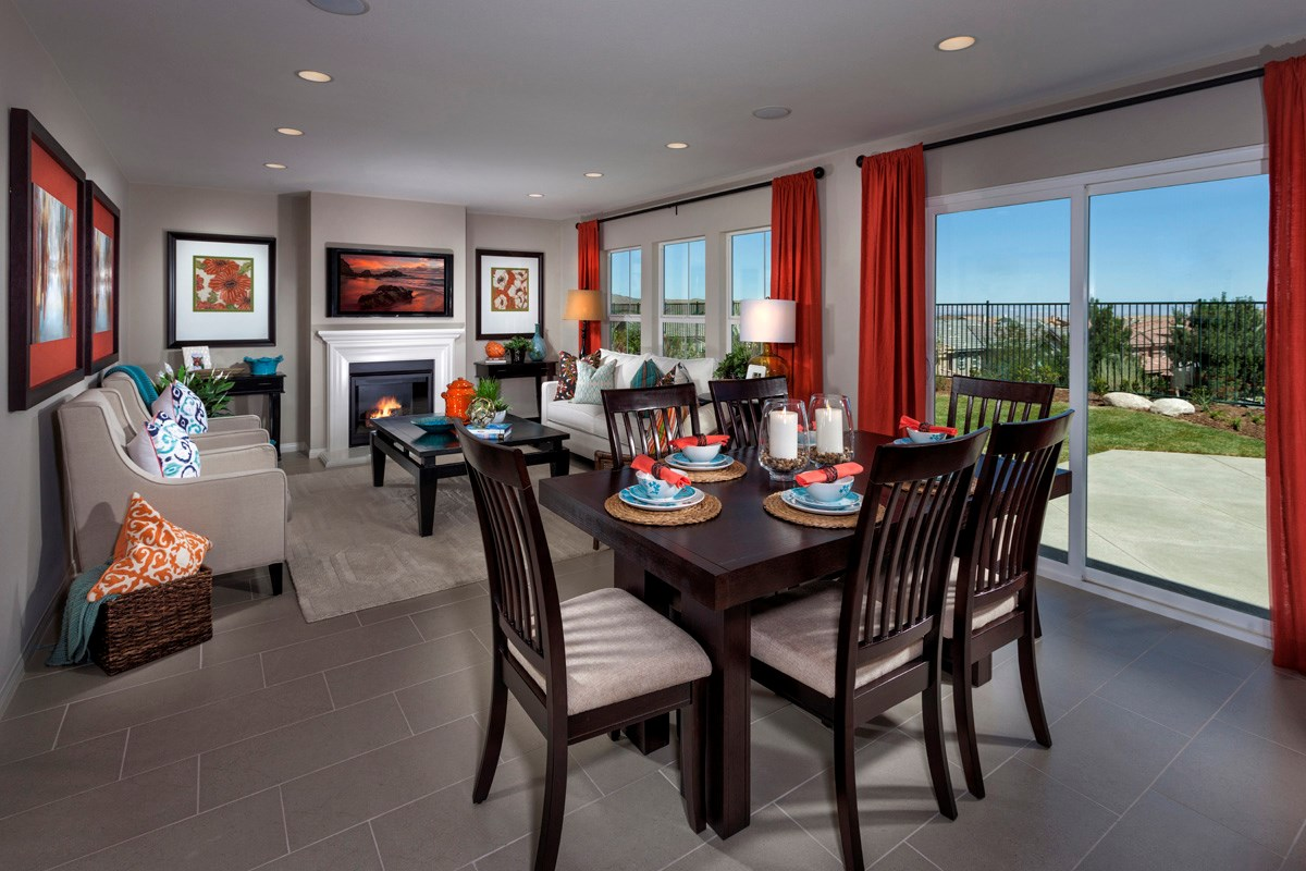New Homes in Palmdale, CA - Crestview at Anaverde Residence One - Great Room