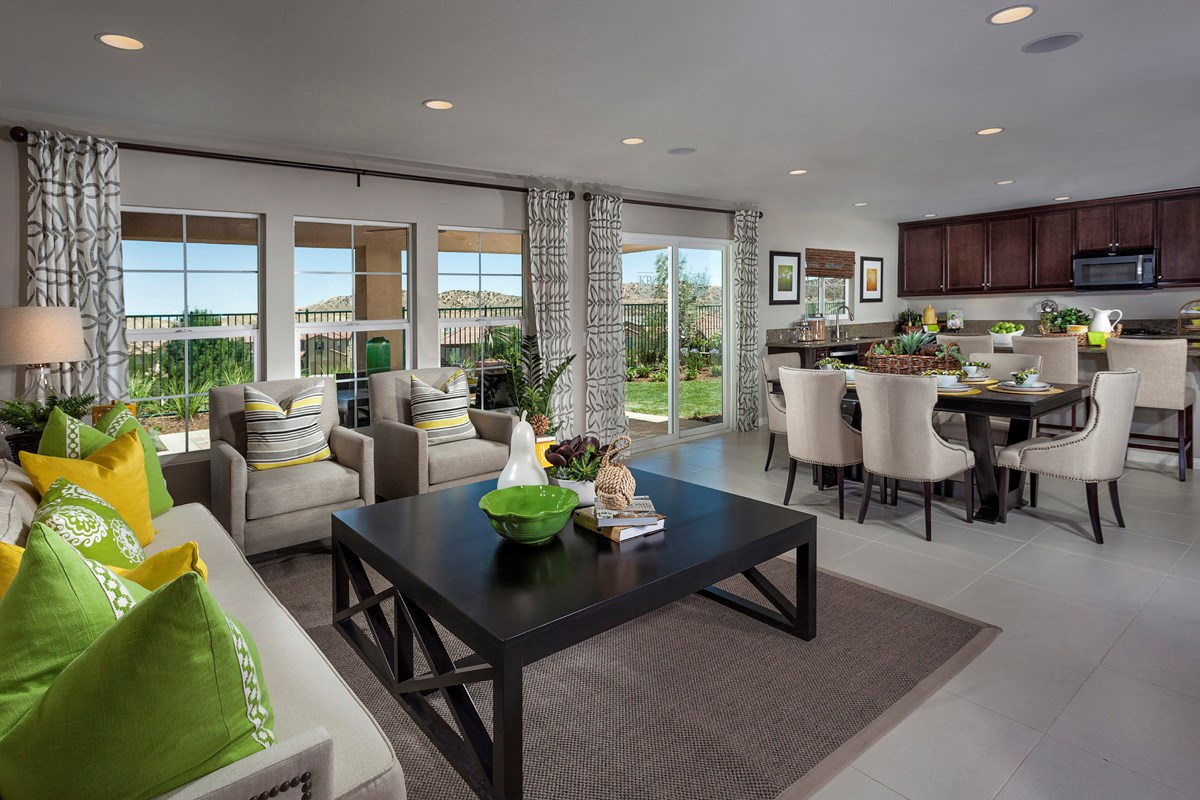 New Homes in Palmdale, CA - Crestview at Anaverde Residence Four - Great Room