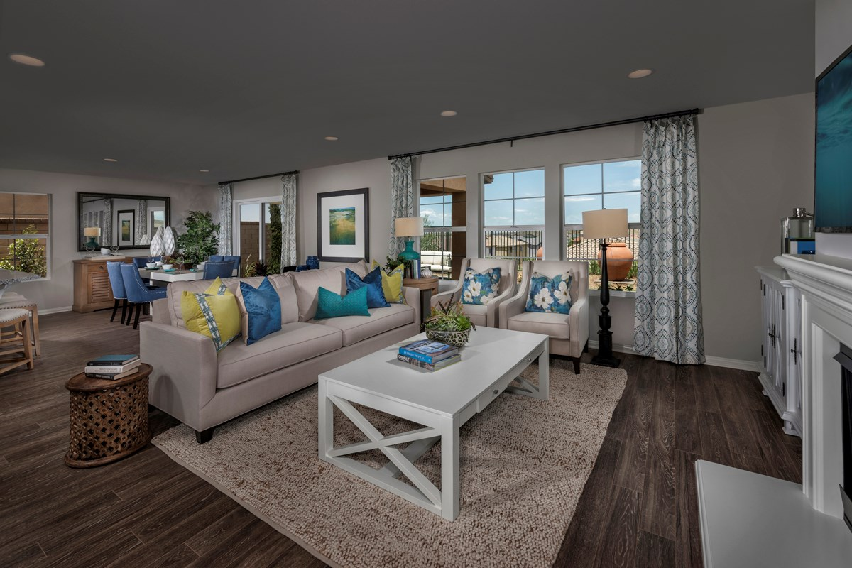 New Homes in Palmdale, CA - Crestview at Anaverde Residence Two - Great Room