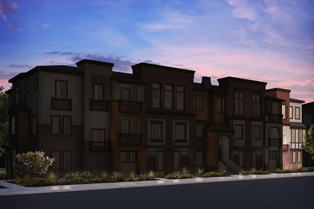 New Homes in San Jose , CA - 7-Plex Elevation A