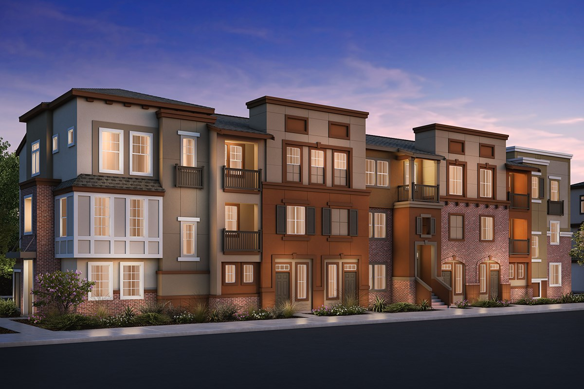 New Homes in San Jose , CA - Apex at Berryessa Crossing 7-Plex Elevation B