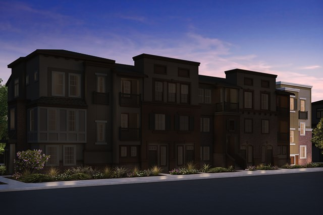 New Homes in San Jose , CA - 7-Plex Elevation B