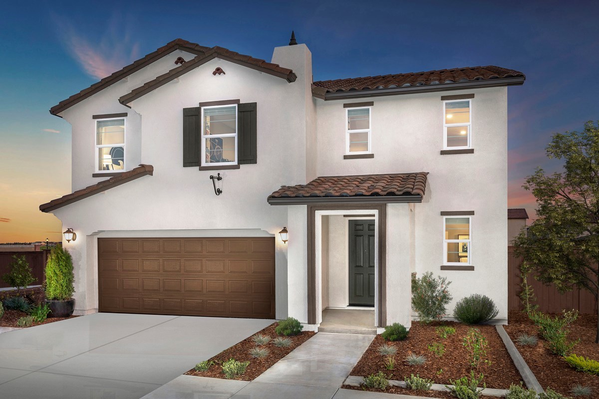 New Homes in Woodland, CA - Bradford at Spring Lake Plan 1880 - Spanish