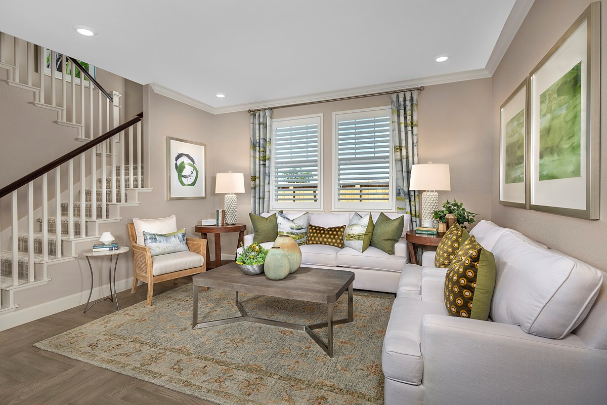 New Homes in Woodland, CA - Bradford at Spring Lake Plan 3061 Great Room