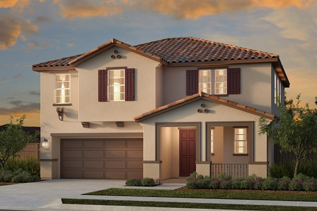 New Homes in Woodland, CA - Plan 3 - Spanish Elevation