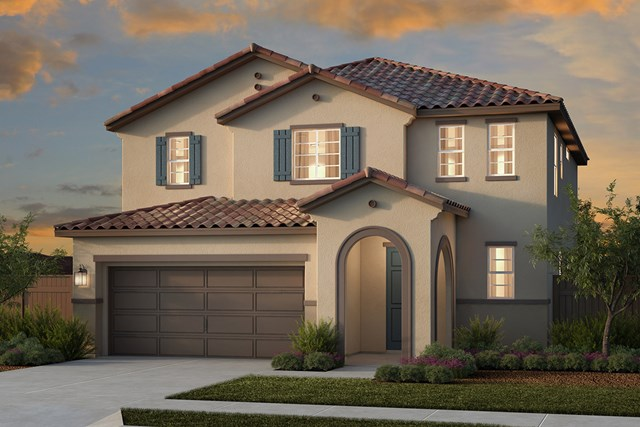 New Homes in Woodland, CA - Plan 4 - Spanish Elevation