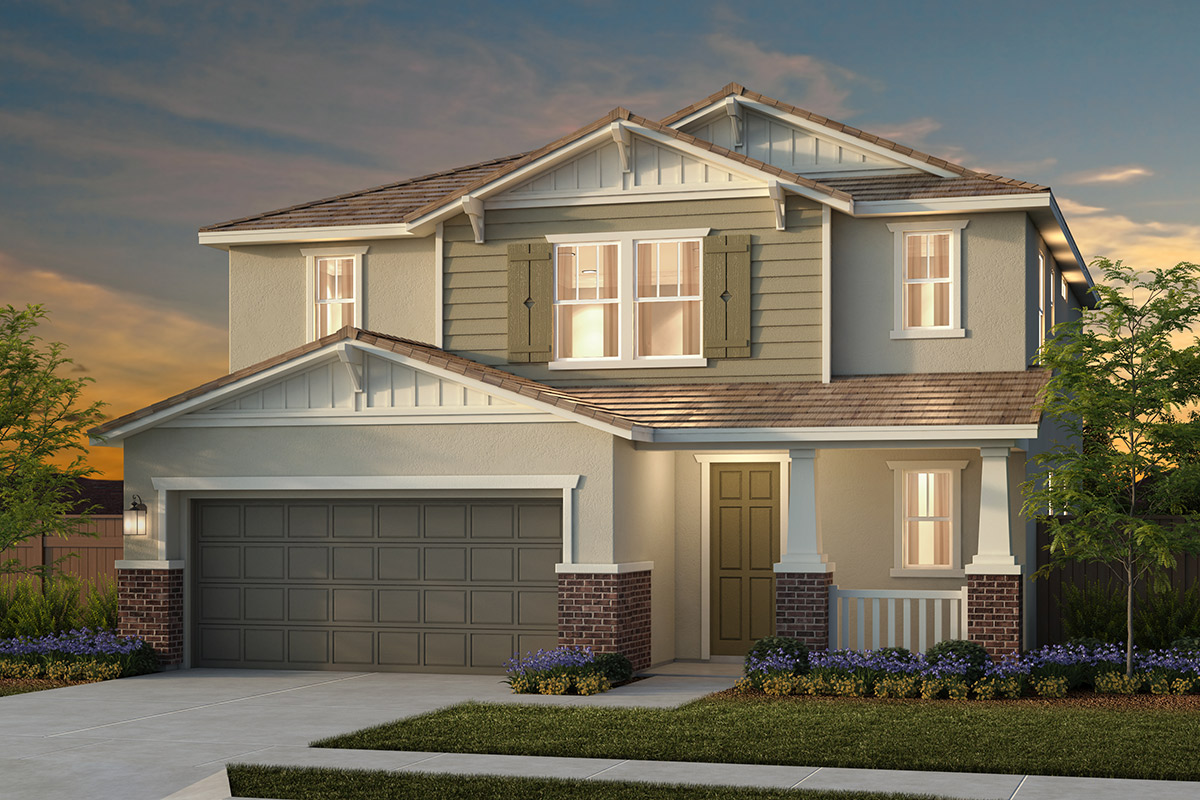 Plan 4 - Craftsman Elevation