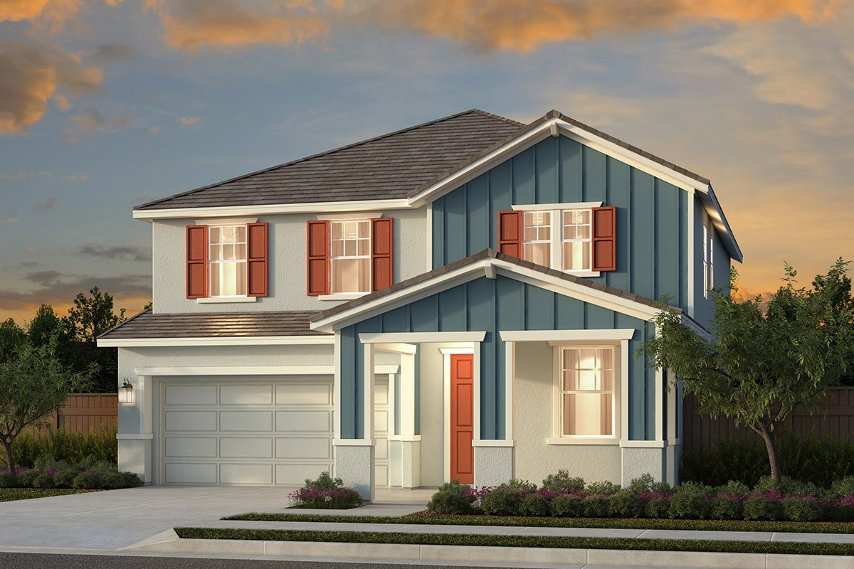 New Homes in Woodland, CA - Bradford at Spring Lake Plan 6 - Farmhouse