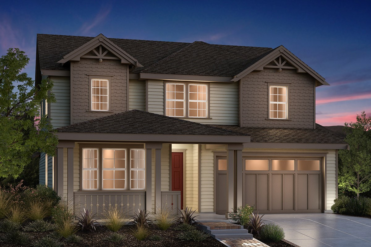 New Homes in Fremont, CA - Bridgepoint at Patterson Ranch Plan 4 Victorian
