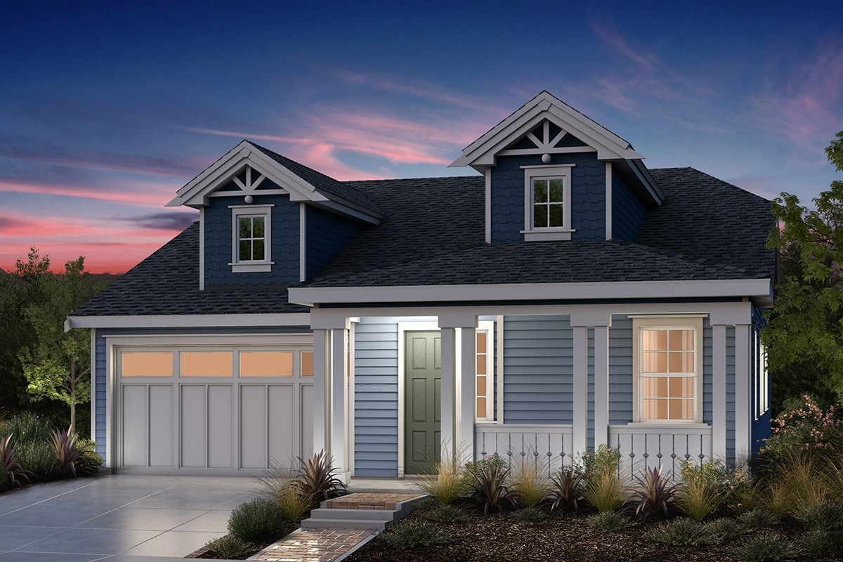 New Homes in Fremont, CA - Bridgepoint at Patterson Ranch Plan 1 Victorian