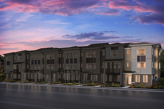 New Homes in Milpitas, CA - 8-Plex Elevation A