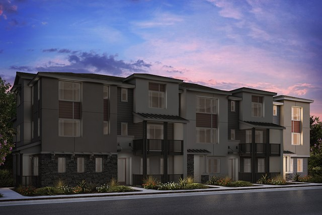 New Homes in Milpitas, CA - 5-Plex Elevation A