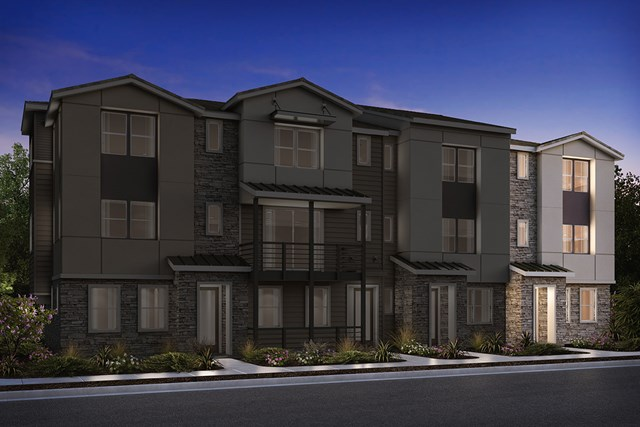 New Homes in Milpitas, CA - 4-Plex Elevation B